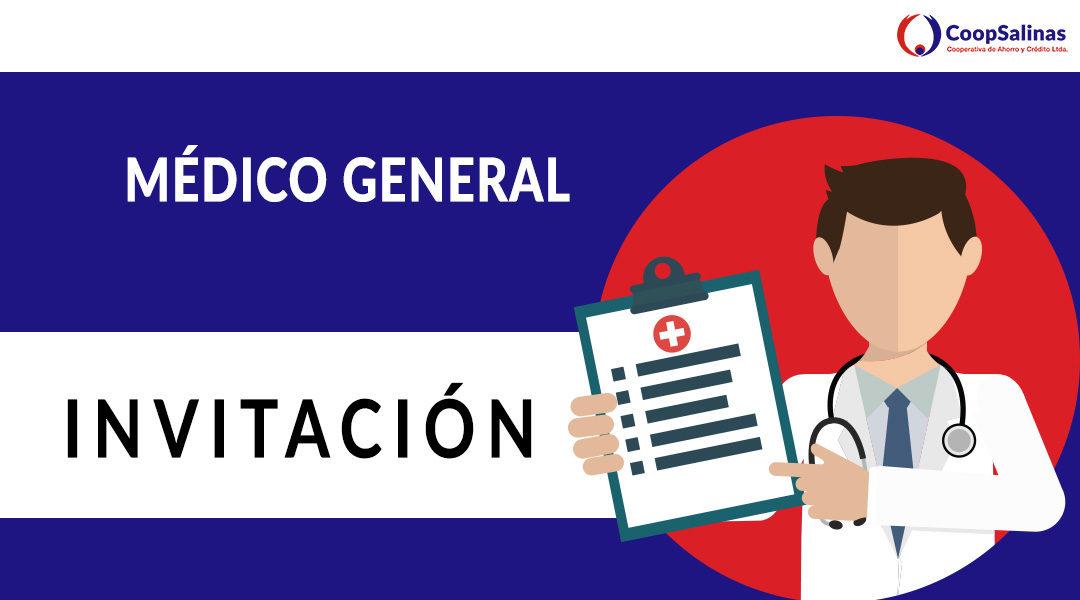 Invitación: Médico General
