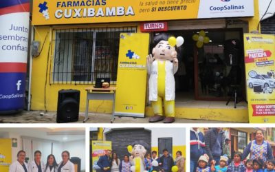 Inauguración Farmacias Cuxibamba