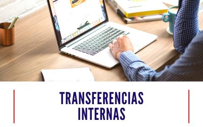 ¿Cómo hacer una transferencia interna electrónica?